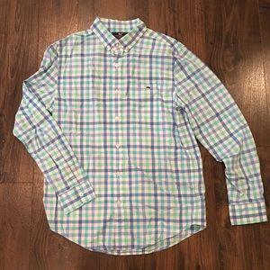 Vineyard Vines Slim Fit Tucker Dress Shirt Mint